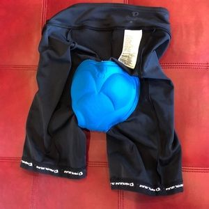 Pearl Izumi cyclist biking shorts worn once